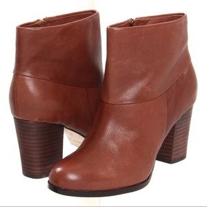 Cole Haan Cassidy Bootie Nike Air Brown Ankle Sz 9